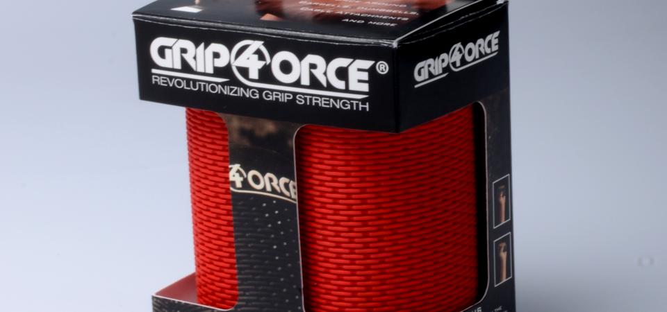 Grip4orce Red Grips Packaging